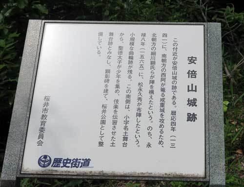 180517安倍山城跡説明