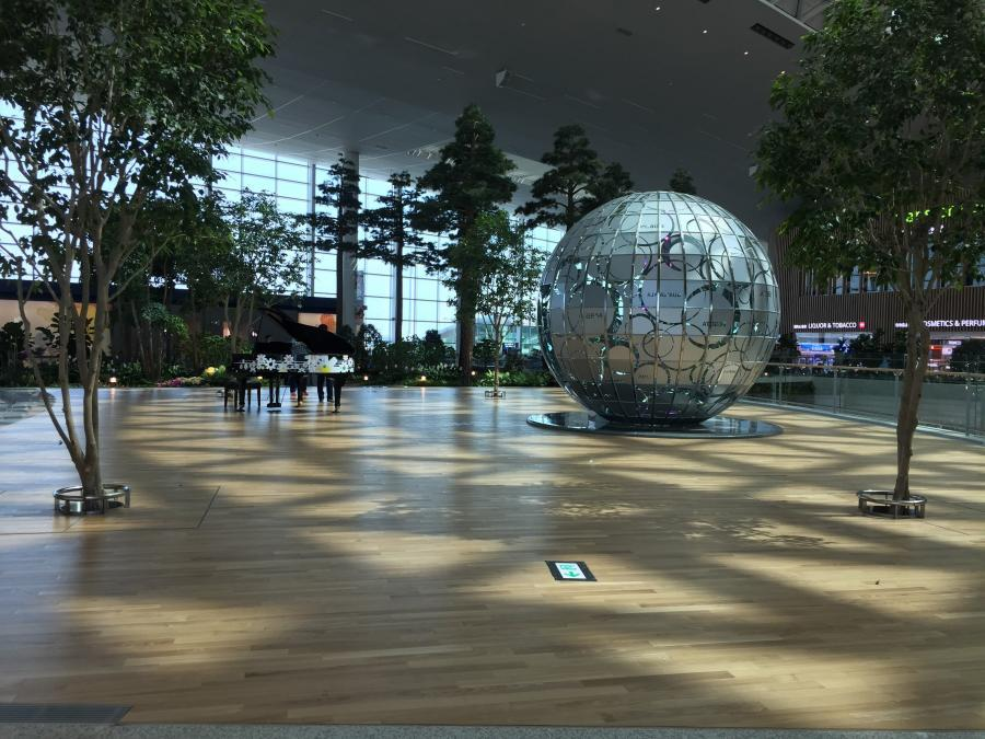 仁川空港第二ターミナルは子供に優しいキッズフレンドリーな空港