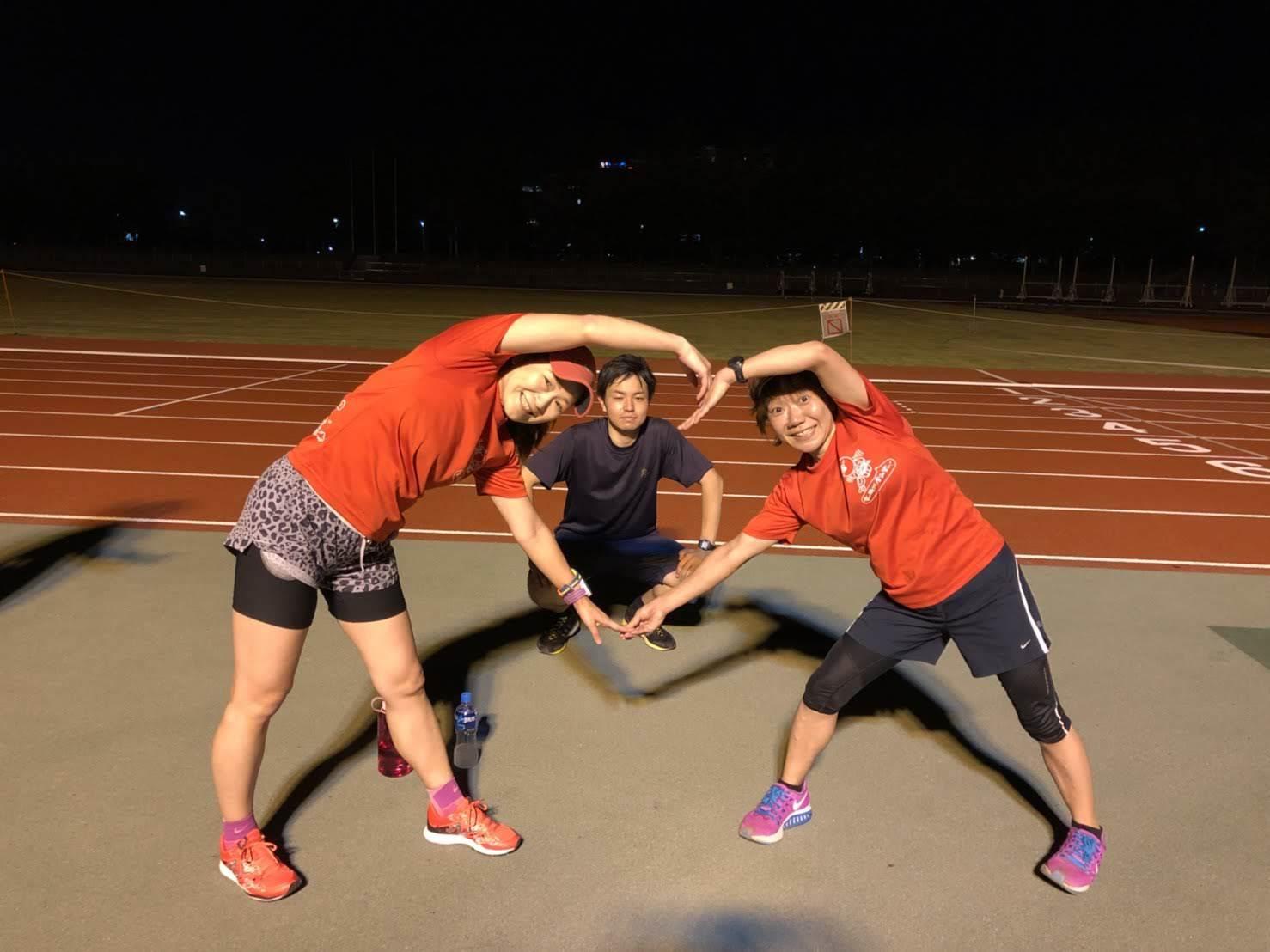 走力が自分より低いランナー用のメニューでも、いっしょに練習することでそれを自分の練習に代える