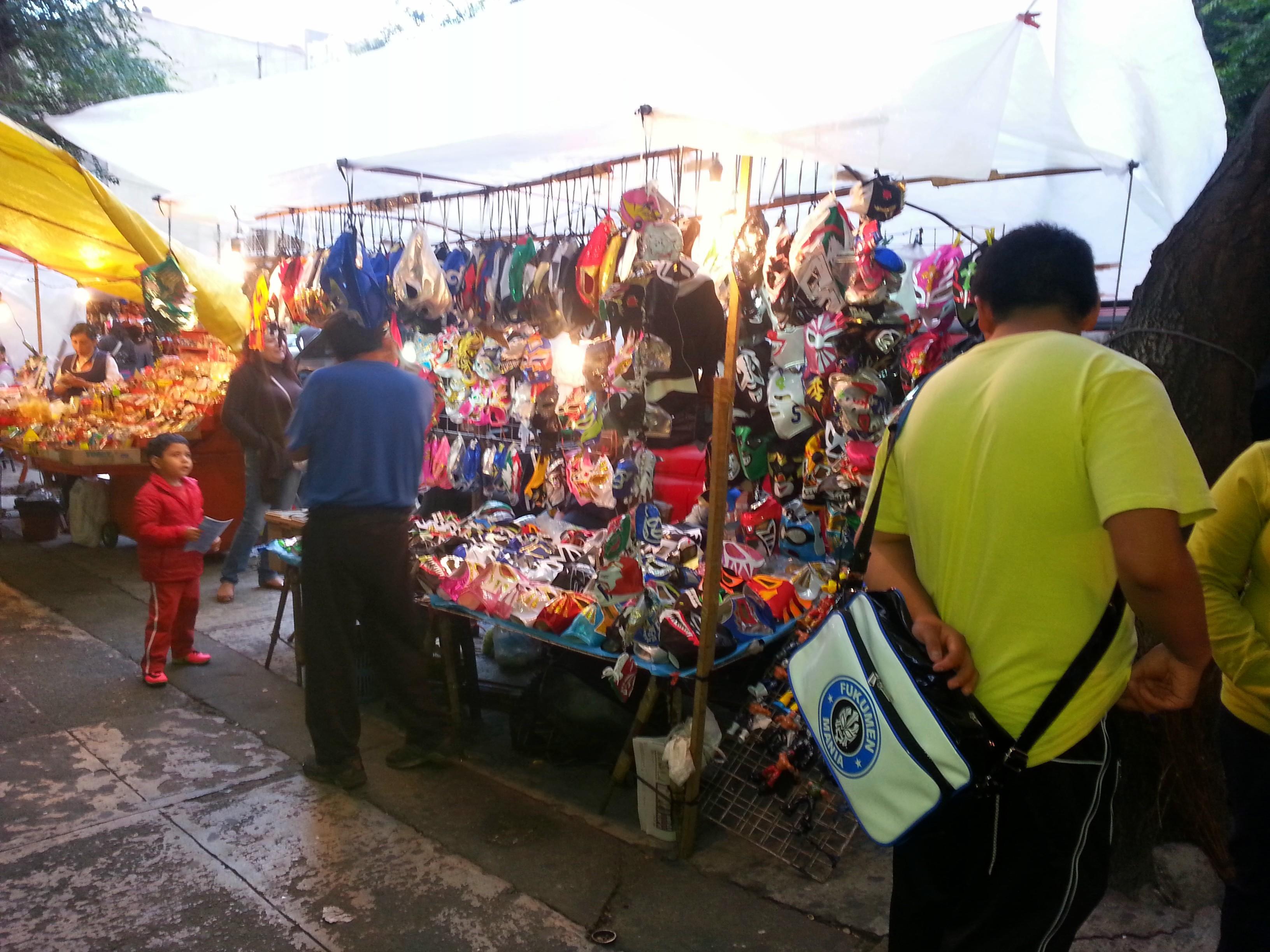 メキシコの格闘技といえば、『ルチャリブレ』