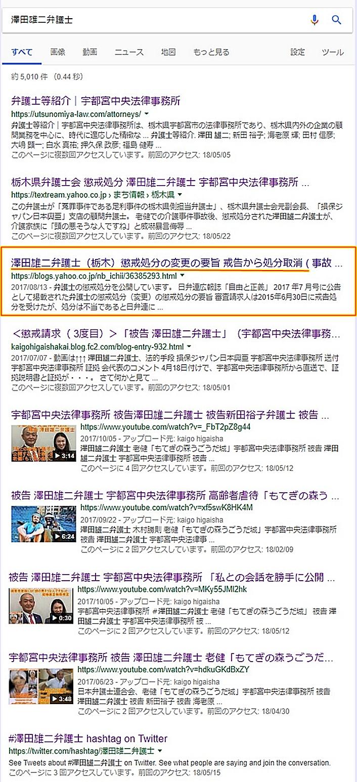 澤田雄二弁護士 宇都宮中央法律事務所 新田裕子弁護士 海老原輝弁護士