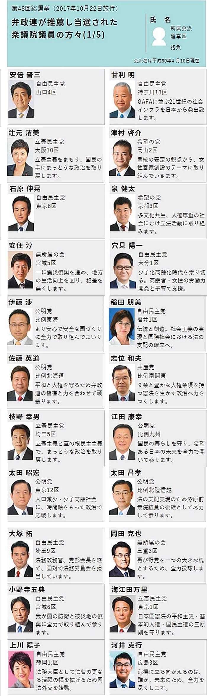 日本弁護士政治連盟(弁政連)