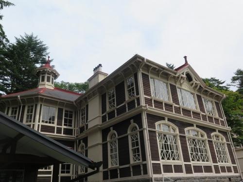 軽井沢 旧三笠ホテル