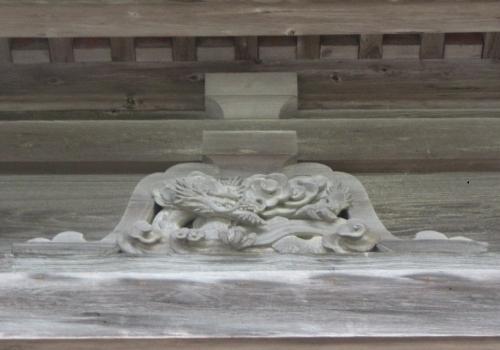 瑞巌寺 五大堂 辰(たつ)龍