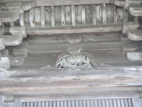 瑞巌寺 五大堂 申(さる)猿