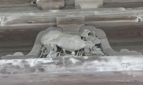 瑞巌寺 五大堂 酉(とり)鶏