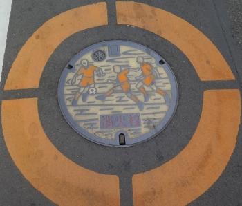 清水駅前周辺マンホール 消火栓