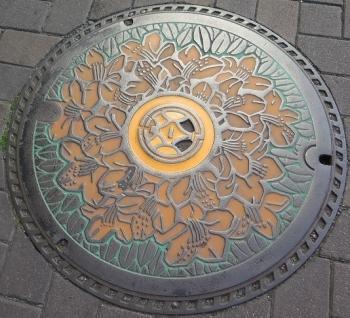 清水駅前周辺マンホール