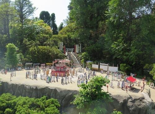 東武ワールドスクウェア《日本の四季》夏盆踊り