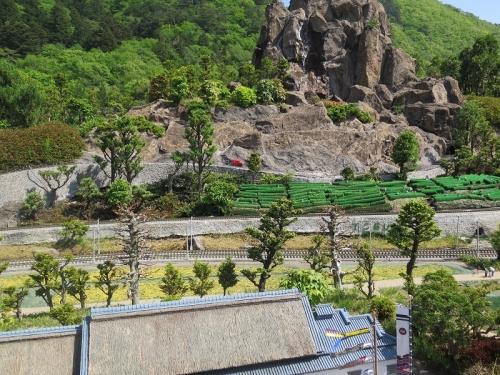 東武ワールドスクウェア《日本の四季》茶畑