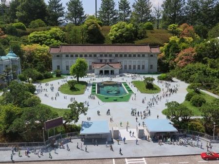 東武ワールドスクウェア 東京国立博物館本館・表敬館