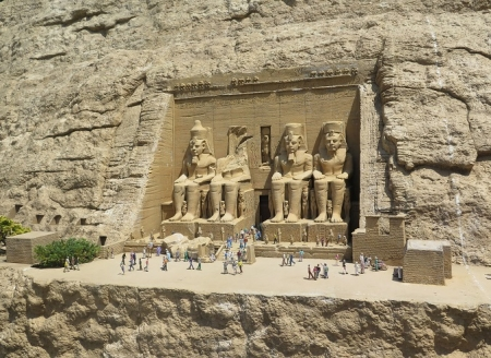 東武ワールドスクウェア《エジプト》アブシンベル大神殿