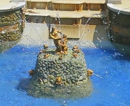 東武ワールドスクウェア《ロシア》ピョートル噴水宮殿 サムソンの像