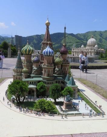 東武ワールドスクウェア《ロシア》聖ヴァシリー寺院