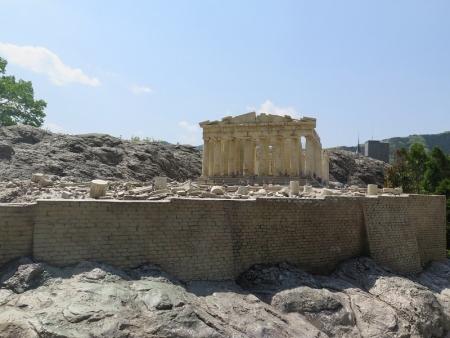 東武ワールドスクウェア《ギリシャ》パルテノン神殿