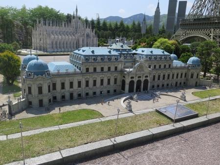 東武ワールドスクウェア《オーストリア》ベルベデーレ宮殿