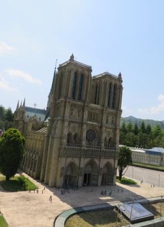 東武ワールドスクウェア《フランス》ノートルダム寺院