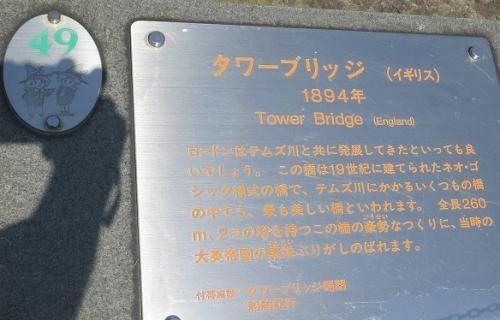 東武ワールドスクウェア《イギリス》タワーブリッジ