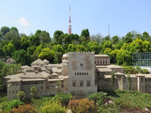 東武ワールドスクウェア《スペイン》アルハンブラ宮殿