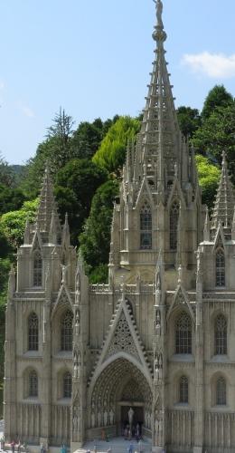 東武ワールドスクウェア《スペイン》バルセロナ大聖堂