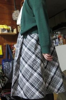 おそろいのスカート