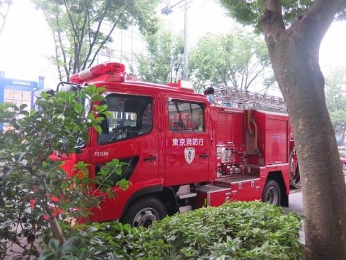 東京都 消防車