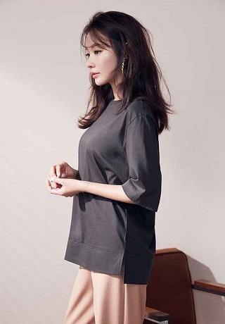 キムアジュンAGシルケットTシャツ01