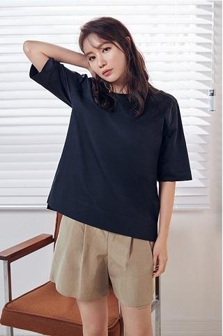 キムアジュンAGシルケットTシャツNB02
