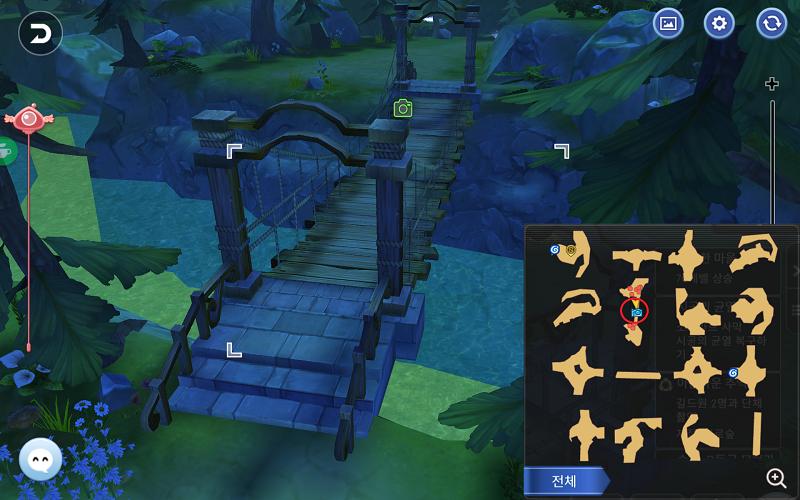 14 深い森の跨線橋(迷宮の森)