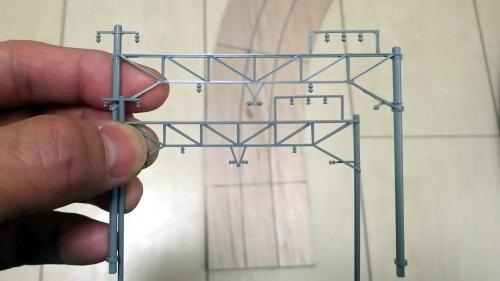 KATO複線架線柱 (1)