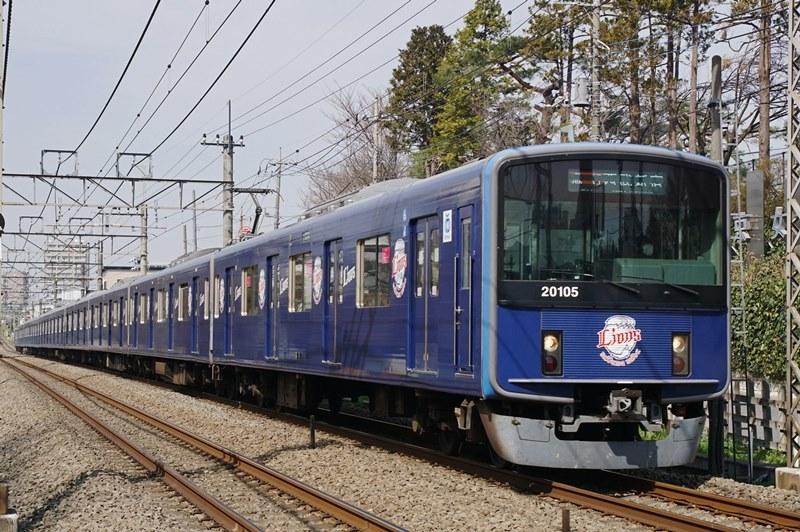 2018年3月15日 東伏見~武蔵関にて