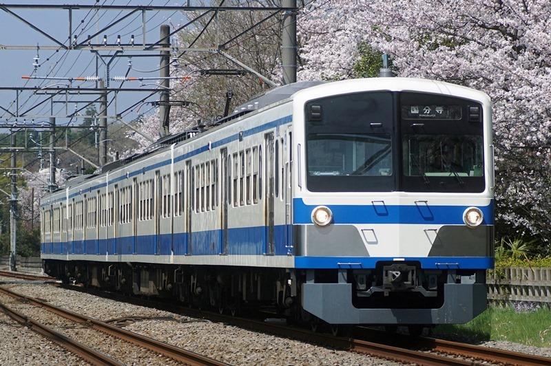 2018年3月28日 武蔵大和~八坂にて (3)