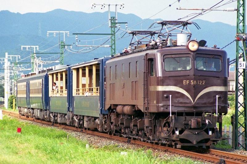 1996年8月12日 三河一宮~豊川にて