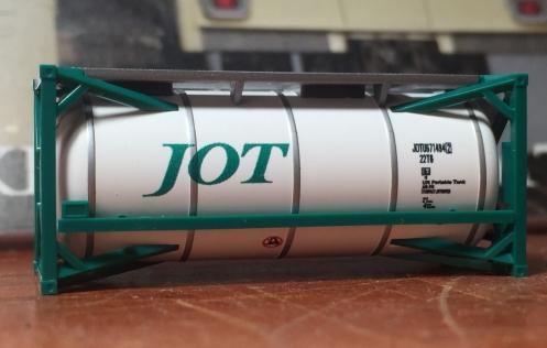 TOMIX ISO20ftタンクコンテナ(日本石油輸送 グリーン)