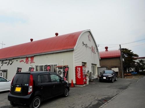 丘珠町 Gさんタマネギ倉庫再利用ラーメン店