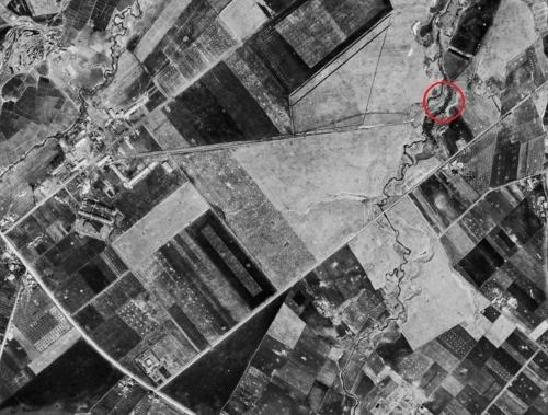 空中写真 1948年米軍 八紘学園 ラウネナイ