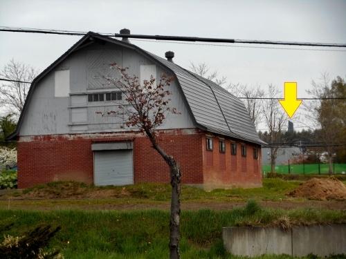 江別 大麻ひかり町 煉瓦の納屋