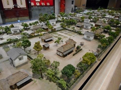 鹿児島 黎明館 出水麓 外城 模型