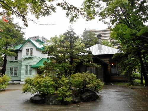 旧永山邸・旧三菱鉱業寮 全景
