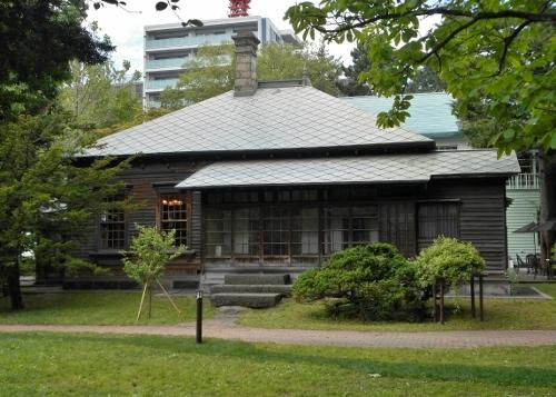 旧永山武四郎邸 南面 180622