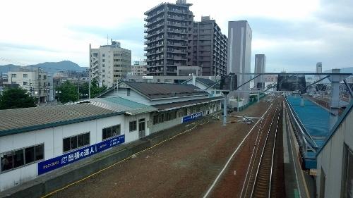 JR苗穂駅 跨線橋から 20180624