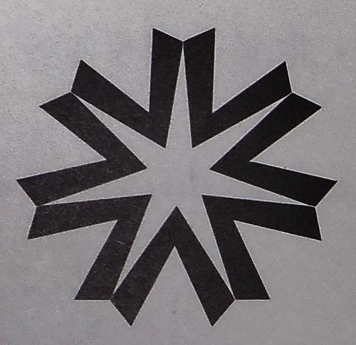 北海道章 七稜星
