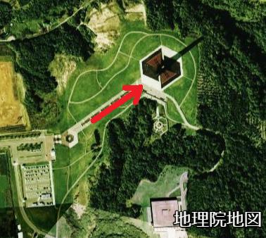 空中写真 北海道百年記念塔周年 1970年代