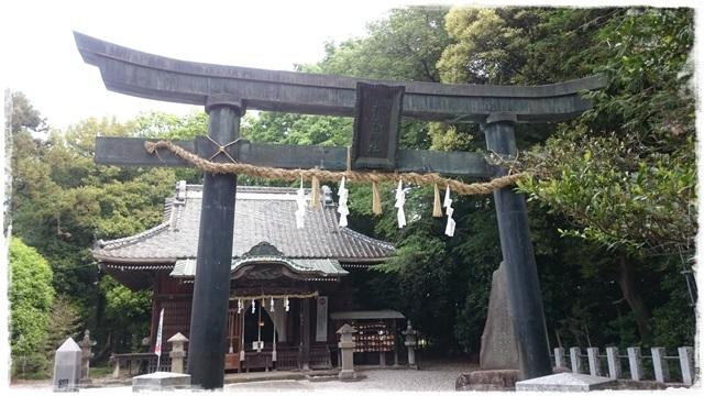 赤城神社・銅造鳥居