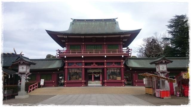 笠間稲荷神社・随神門