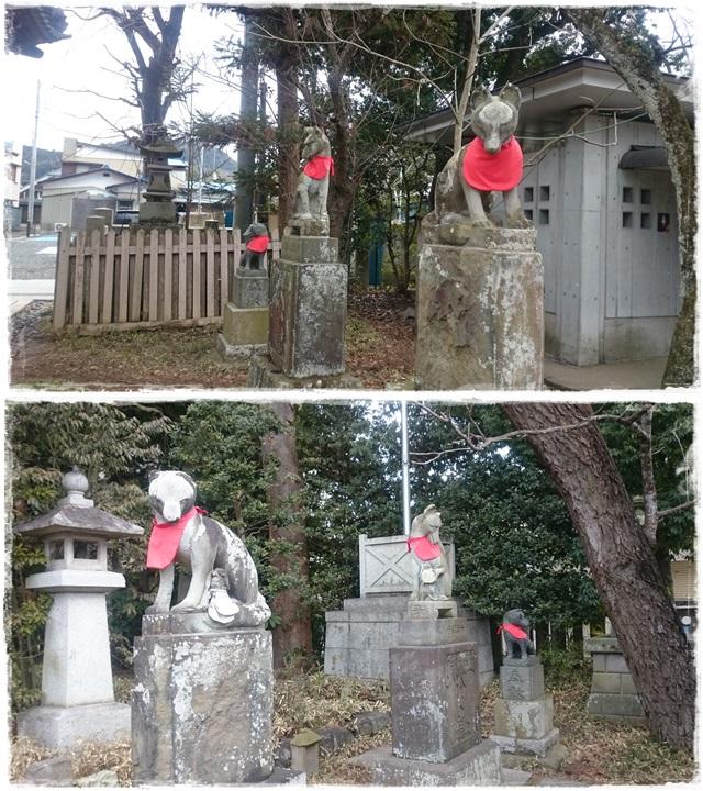 笠間稲荷神社・狛狐