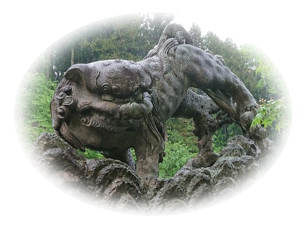 石都々和氣神社・狛犬