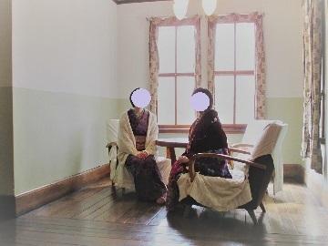 旧永山邸にて2