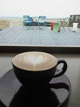 しろくまカフェにて