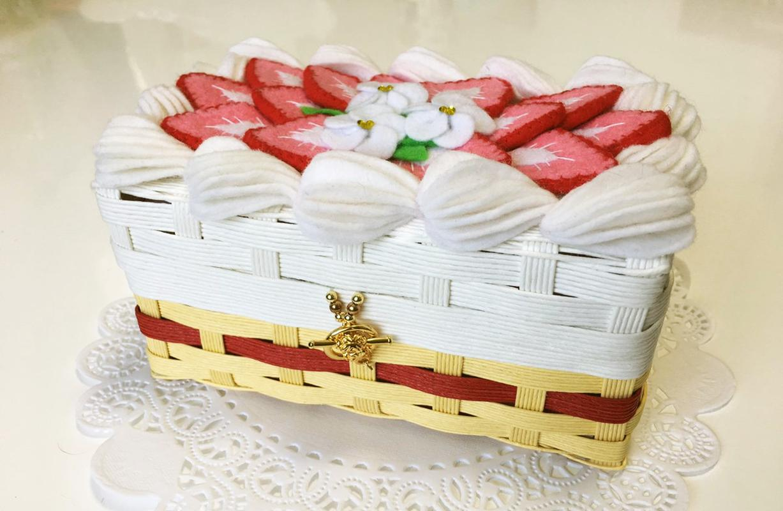 [COCOCO] いちごケーキのドールケース